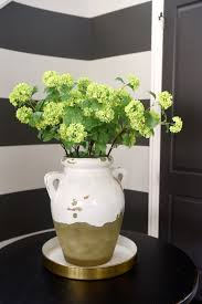 Spring Home Tour Dining Room Large Urn And Faux Flowers