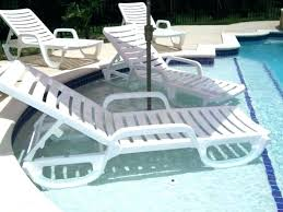 Swimming Pool Lounge Chairs Loungers Plastic Best