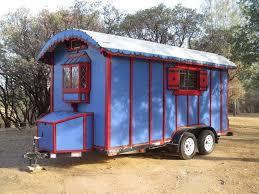 100 Gypsy Tiny House Man Simplifies By Building Custom Wagon
