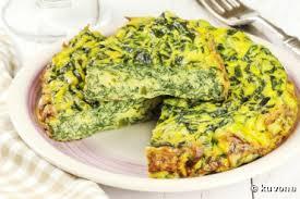 recette bio omelette bio aux verts de blettes ou trouchia