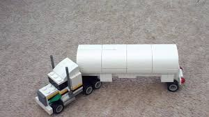 Mini LEGO Tanker Truck MOC - YouTube