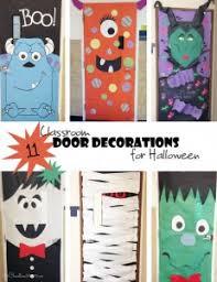 Halloween Classroom Door Decorations by Classroom Door Decorations Archives Onecreativemommy Com