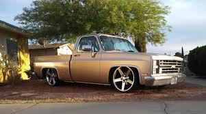 100 Bagged Chevy Trucks Squarebody Silverado Rat Rod 3100 Pickup Used