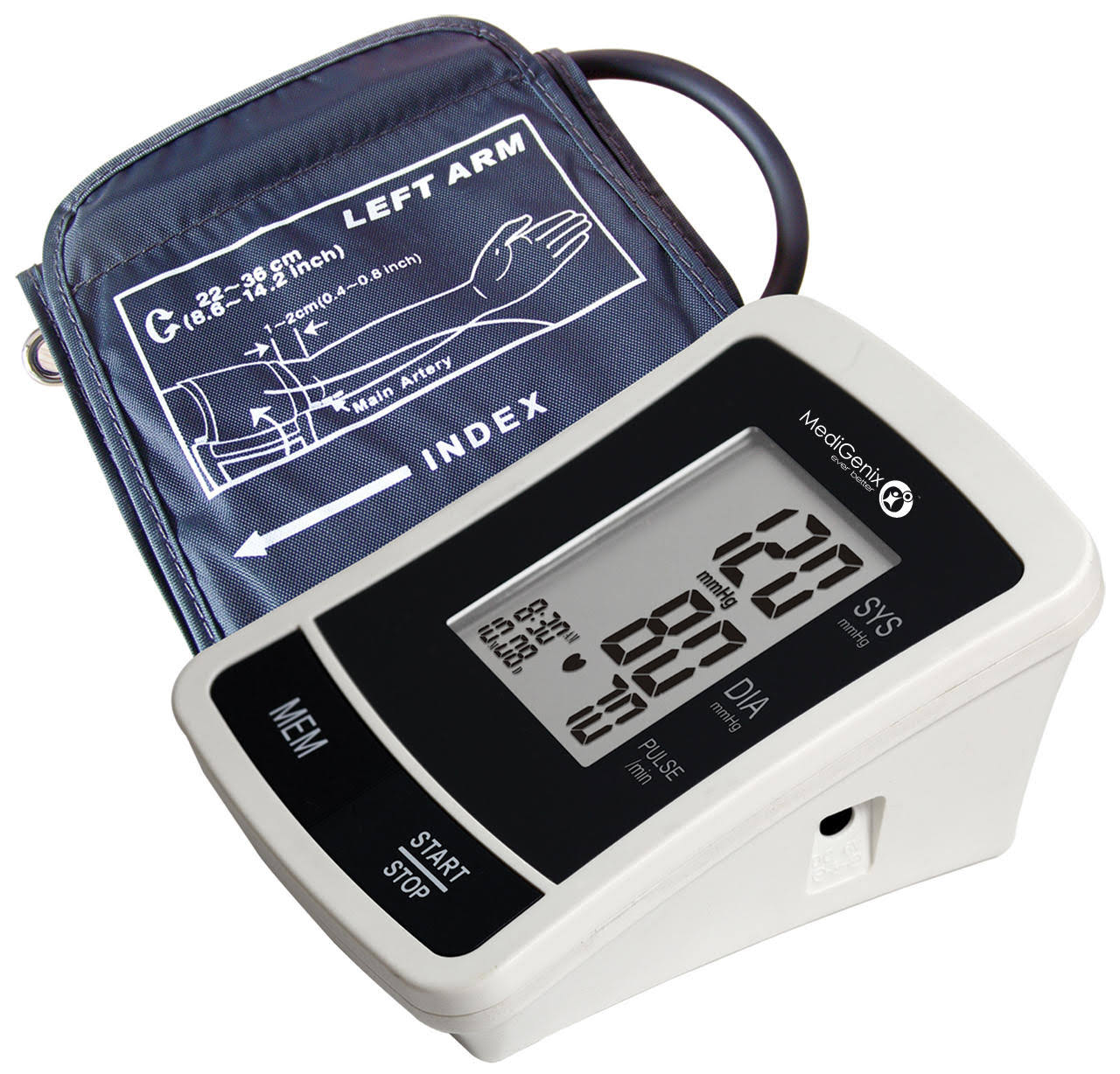 Medigenix MGX-1209 Automatic Blood Pressure Monitor