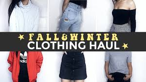 COLLECTIVE TRY ON FALL WINTER CLOTHING HAUL