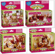 calico critters country furniture 4 sets bedroom patio dining
