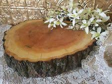 14 16 X3 Red Oak Wood Rustic Cake Stand Table Centerpiece Wedding Live