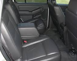 2nd row captain chairs console ford explorer and ford ranger