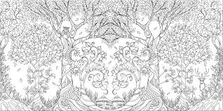 Cozy The Adult Coloring Book Johanna Basford Enchanted Forest Secret Garden Addictive