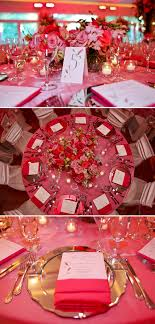 Primrose Cottage Wedding Reception Pink Floral Centerpieces Table Numbers Settings