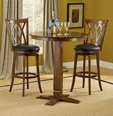 Hillsdale Furniture Mansfield/Dynamic Designs Pub Table Set In Brown Cherry  Finish