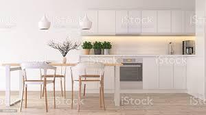 moderne skandinavische küche stockfoto und mehr bilder aktenschrank