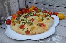 focaccia aux tomates cerises la p tite cuisine de pauline