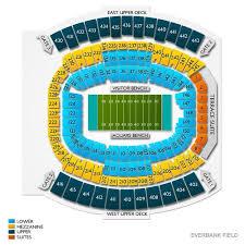 Jacksonville Memorial Stadium Seating Chart