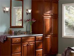 Kitchen Maid Cabinets Home Depot by Furniture Divider For Storing With Kraftmaid Cabinets Outlet