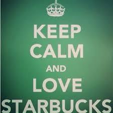Keep Calm And Love Starbucks Peace