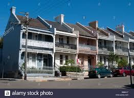 100 Sydney Terrace House A Row Of Victorian Houses In The Paddington Suburb