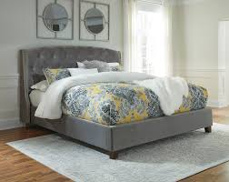 Ashley Bittersweet Bedroom Set by Ashley Kasidon Gray King Bed Dream Rooms Furniture