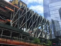 Culture Shed Hudson Yards by Hudson Yards U0027 Art Center The Shed Wraps Up Steel Construction On