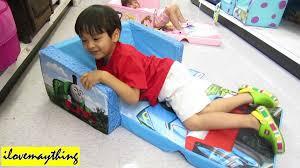 Minnie Mouse Flip Open Sofa Bed by Thomas Flip Open Sofa U0026 Rocking Chair Thomas U0026 Friends Youtube