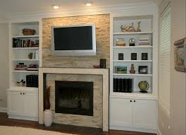 Living Room With Fireplace In The Middle by Wall Units Awesome Built In Entertainment Cabinets Built In