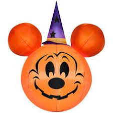 Disney Halloween Airblown Inflatables by Halloween Mickey Mouse Disney Pumpkin 3 Feet Tall Airblown