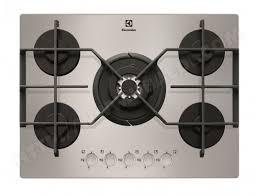 plaque cuisine gaz plaque gaz electrolux egt7353yox idées cuisine