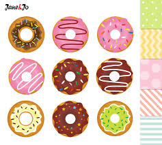 Doughnut Clipart Cute Free Collection