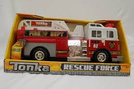 100 Fire Rescue Trucks Tonka Force Lights And Sounds 12inch Ladder Truck