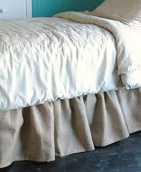 The 25 best Burlap bed skirts ideas on Pinterest