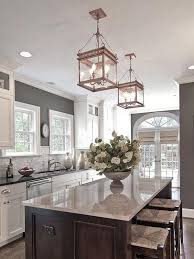 häusliche verbesserung antique kitchen lights appealing island
