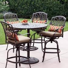 wicker bar height patio set outdoor bar sets patio height sets ultimate patio