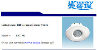 Ceiling Mount Occupancy Sensor Switch by Ceiling Mount Pir Occupancy Sensor Switch For Air Conditioner