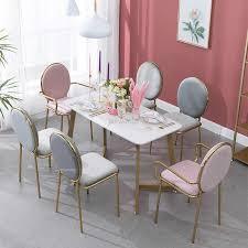 nordic kreative esszimmer stuhl schmiedeeisen angepasst wohnzimmer stuhl kaffee lounge stuhl gold einfache dressing stühle