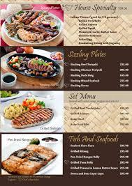tres cuisine tres marias menu cagayan de oro resorts and hotels