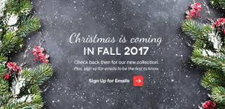 Christmas Is Coming In Fall With Mountain King Trees