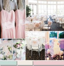Pearl Pink Spring Summer Wedding Color Ideas 2015