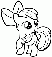 Easy Coloring Pages For Girls My Little Pony