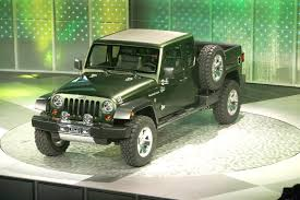 100 4 Door Jeep Truck Gladiator Pickup Coming In 2013