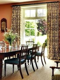 Excellent Curtains For Dining Room Curtain Ideas
