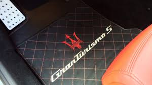 Maserati Granturismo Touch Of Luxury - Custom Vehicle Floor Mats ...