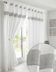 Amazon Uk Living Room Curtains by Kimberley Black Faux Silk Fully Lined Ready Made 90 X 90 Inch Drop