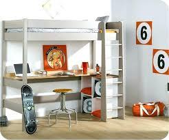 lit mezzanine 1 place bureau integre lit mezzanine ado avec bureau et rangement lit sureleve avec