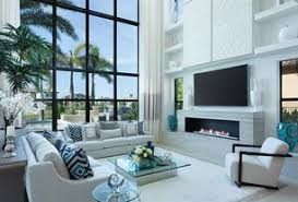 1 Tag Modern Living Room With High Ceiling Built In Bookshelf Carpet Travertine Tile