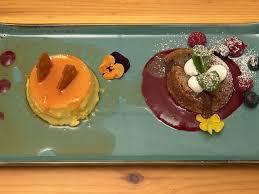 orangenflan schoko nuss kuchen himbeerspiegel