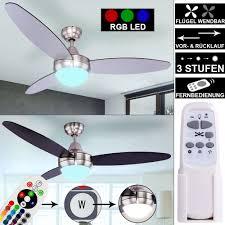 klimaanlagen heizgeräte rgb led leiser decken ventilator