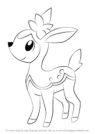 How To Draw Deerling From Pokemon