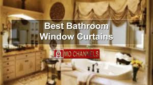 Sears Ca Kitchen Curtains by Best Bathroom Window Curtains Youtube