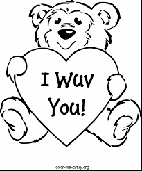 Marvelous Valentines Day Coloring Pages With Free Printable Valentine And Hello Kitty