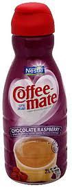 Coffee Mate Creamer Chocolate Raspberry 160 Oz Nutrition